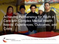 Achieving Permanency for Youth in Care with Complex ... - Pal-Tech
