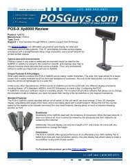 Metrologic Focus Review: - POS systems