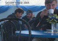Programme saison vidéo 2005