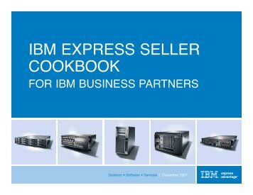 IBM EXPRESS SELLER COOKBOOK