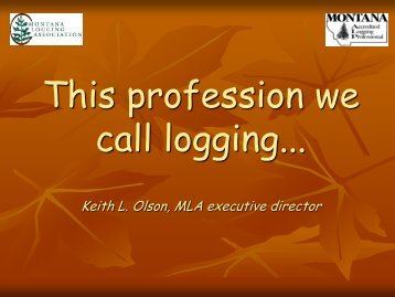 This profession we call Logging - Rights and Resources Initiative