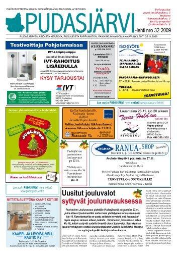 pudasjarvilehti-32-n.. - Pudasjärvi-lehti ja VKK-Media Oy