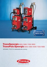 TS TPS 3200, 4000, 5000, 7200, 9000 - TornboSvejs