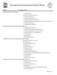Procuraduria General de Justicia del Estado de Morelos