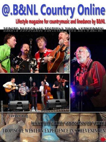 eerste bluegrass festival voor antwerpen - B&NL Country Online