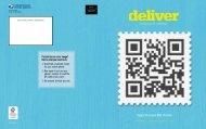 Download as PDF - Deliver Magazine