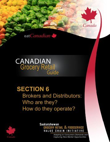 SECTION 6 - Saskatchewan Grocery Retail and Foodservice Value ...