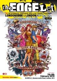 for the alternative, streetwear, rock & cult fashion - London Edge