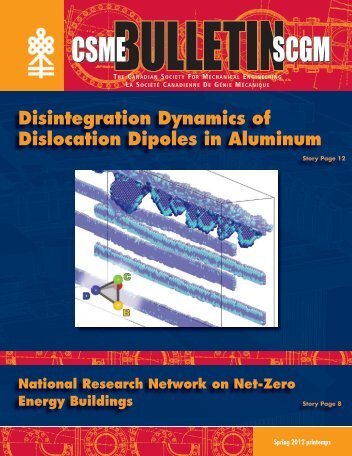 Disintegration Dynamics of Dislocation Dipoles in Aluminum - CSME