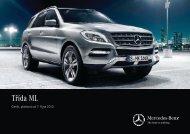 Ceník třídy ML - Mercedes-Benz