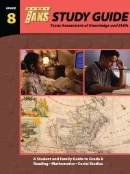 A Student and Family Guide to Grade 8 Reading • Mathematics ...