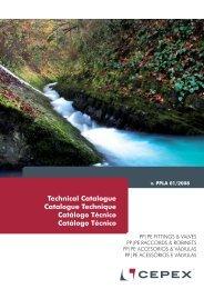 Catálogo Técnico Accesorios PP Cepex - Poolaria