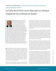 La Carta de la Tierra como base para un enfoque integral de los ...