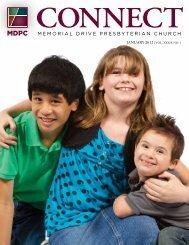 January - Memorial Drive Presbyterian Church