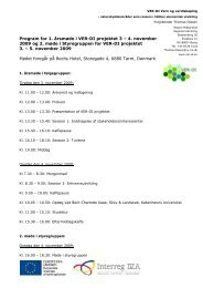 Program for 1. årsmøde i VER-DI projektet 3 – 4 ... - ver-di.eu