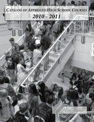 High School Course Catalog - Howard County Public Schools