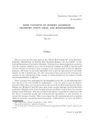 Mannheimer Manuskripte 177 gk-mp-9403/3 SOME CONCEPTS OF ...