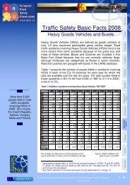Heavy Goods Vehicles & Buses - ERSO - Swov