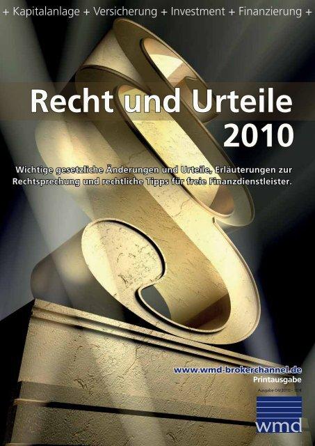 geht es zur PDF Ausgabe des Magazins - WMD Brokerchannel