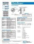 OC25/OS25 Datasheet - Page 2