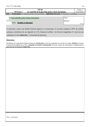 TP18. controle glyce.. - G. Furelaud