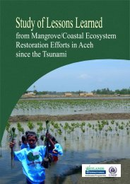 from Mangrove/Coastal Ecosystem Restoration Efforts in Aceh since ...