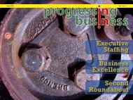 Executive Staffing Business Excellence Second Roundabout