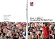 Handbuch für Fanbeauftragte - Koordinationsstelle Fanprojekte