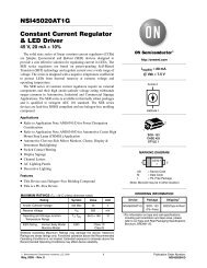 NSI45020AT1G Constant Current Regulator & LED Driver