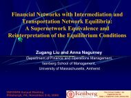 Financial Networks with Intermediation and Transportation Network ...