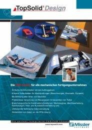Die CAD-Lösung für alle mechanischen ... - TopSolid