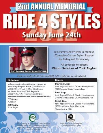 Sunday June 24th - York Regional Police