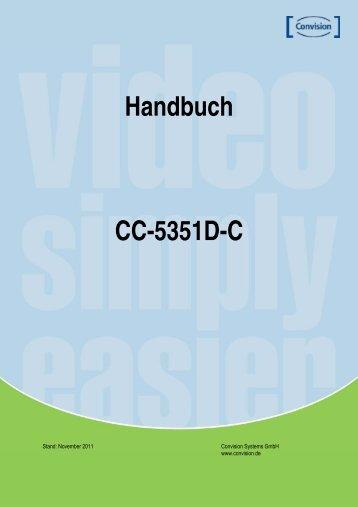 Handbuch CC-5351D-C - Convision