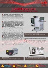 LASERyvo LV-c popisovací stanice s vanadátovým ... - MediCom