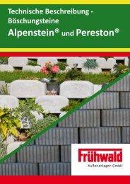 Technische Beschreibung - Alpenstein - Frühwald - wir geben ...
