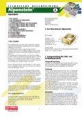 Technische Beschreibung - Alpenstein - Frühwald - wir geben ... - Page 2