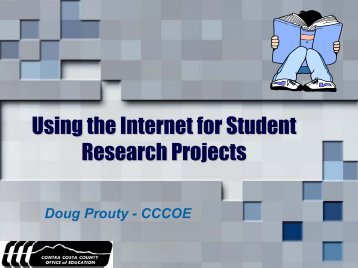 using the internet for research papers