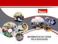 Apresentação Jornada - Educação - Empresa Tuper Baixar Arquivo