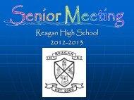 senior meeting 2012-13