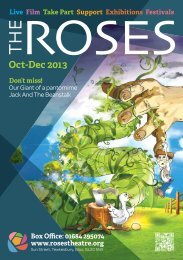 Download brochure - The Roses Theatre