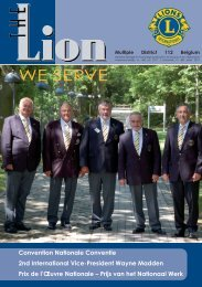 Lions 458 - Lions Clubs International - MD 112 Belgium