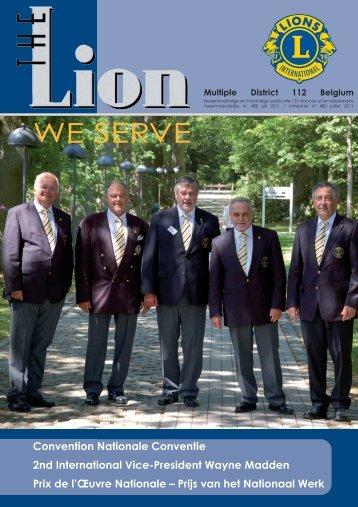 Lions 458 - Lions Clubs International - MD 112 Belgium