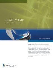 CLARiTY FSR™