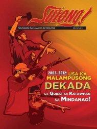 SULONG! March 2013 Issue (Bisaya) - philippinerevolution.net