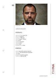 JUERGEN MAURER - DIVINA – Agentur für Schauspielkunst