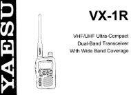 Yaesu VX1-R - n7tgb