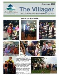 Villager, September 2012 - Porter Hills Retirement Communities and ...