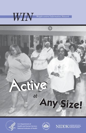 Active at Any Size! - Weight-Control Information Network - National ...