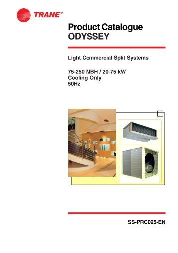 Product Catalogue ODYSSEY