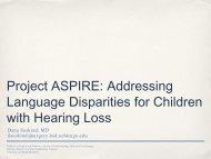 Project ASPIRE: Addressing the Achievement Gap for Children ...